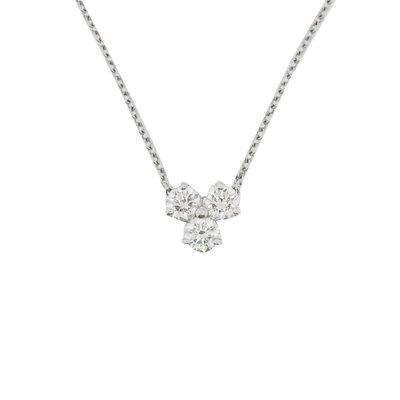 【JHT金宏總珠寶/GIA鑽石專賣】Tiffany&co.鑽石墜鍊/材質:PT950/附原廠盒(JB22-BN5)
