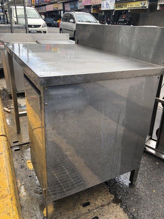 *大銓冷凍餐飲設備*不銹鋼中古工作台 多種尺寸新品都可訂做