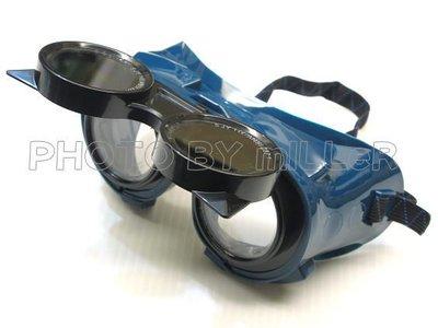 【米勒線上購物】電焊護目鏡 氣焊氬焊用護目鏡 安全眼鏡 四個通氣孔