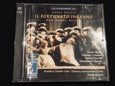 董尼才悌:歌劇「幸福的騙局」全曲 / Il fortunate Inganno / Dynamic / 2CD
