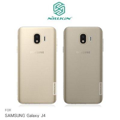 Samsung Galaxy J4 NILLKIN 本色系列 TPU軟套 果凍套 透色套 保護殼 手機套 清水套 手機殼