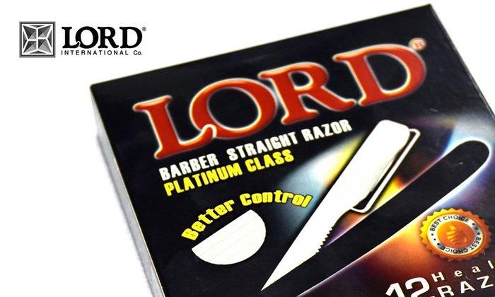 GOODFORIT / LORD Barber Straight Disposable Razor拋棄式多功能剃刀/盒