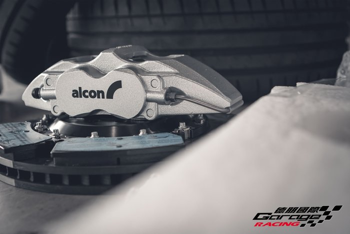 德朋國際   ALCON CAR-98四活塞公司貨套裝組 Peugeot 308 實裝 歡迎詢問 制動升級