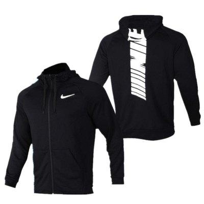 康扣體育.只售正品~耐克 Nike 男子大Logo毛圈針織防風連帽運動服夾克外套BV2759-010