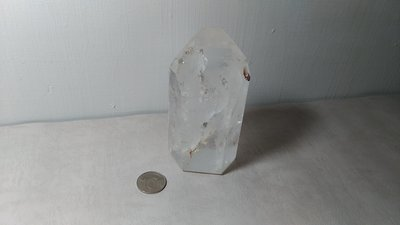 天然白水晶柱~開運能量~重約850克~編號CT15-1