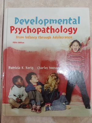 (36)《developmental psychopathology 5e》9780071215206│些微泛黃