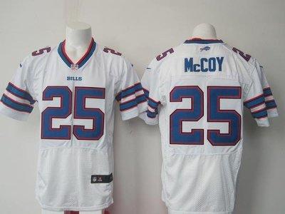 漫無止境wkky NFL橄欖球球衣精英版刺繡Buffalo Bills 布法羅比爾 25# McCOY