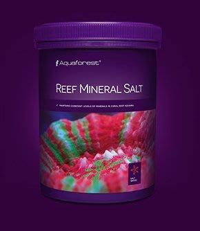 ◎ 水族之森 ◎ 波蘭 Aquaforest ® Reef Mineral Salt 珊瑚礦物鹽 400g/桶