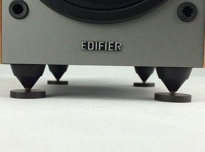 104.黑檀錐形小號腳釘書架音箱音響功放CD膽機減震避震三角錐23mm1個一組 100元