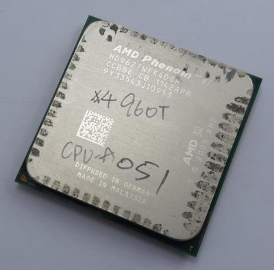 【冠丞3C】AMD X4 960T AM3腳位 CPU 處理器 CPU-A051