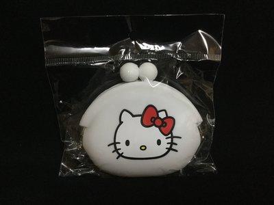 Hello Kitty 零錢包   kt零錢包   白色