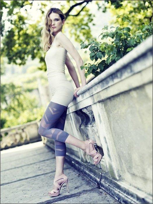 °☆就要襪☆°全新義大利品牌 OMERO KIELE 時尚造型七分褲襪