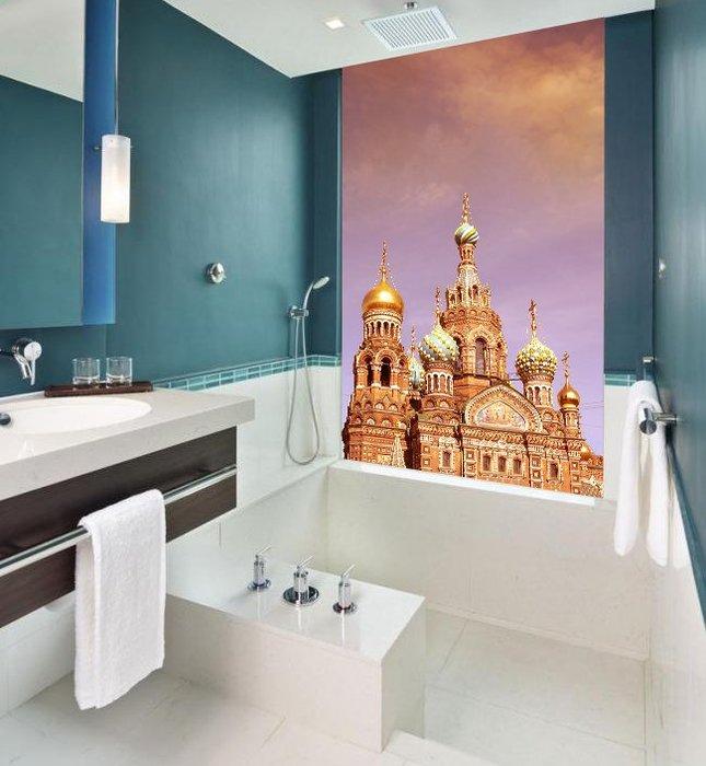 客製化壁貼 店面保障 編號F-348 莫斯科城堡 壁紙 牆貼 牆紙 壁畫 星瑞 shing ruei