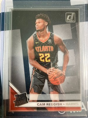 2019-20 donruss clearly Cam reddish RC