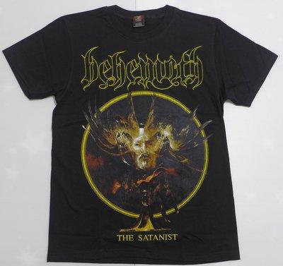 【Mr.17】Behemoth 比蒙巨獸樂團The Satanist 黑金屬死亡金屬T-SHIRT短袖團T (H741)