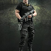 100% new Hottoys 1/6 figures The Expendables Barney Ross