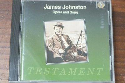 Testament-Johnston: opera and song-澳洲版,有IFPI
