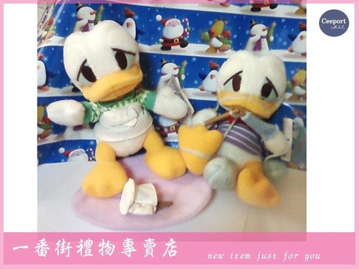 一番街禮物專賣店☆日本帶回☆迪士尼--唐老鴨做家事娃娃(圖二2款可選)~單隻價~生日禮物^^