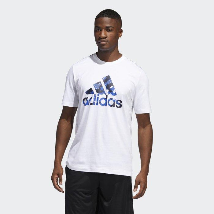 南 2020 6月 Adidas TRAINING AMERICANA TEE GK3621  白 美國 愛迪達 短T