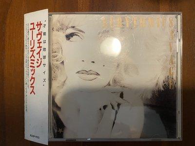EURYTHMICS 舞韻 SAVAGE 1987年日本版 CD 附側標 Annie Lennox