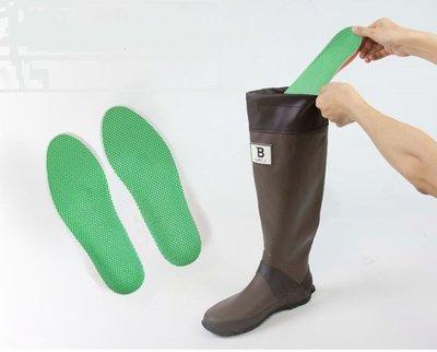 【東京速購】代購~日本野鳥協會 長靴專用鞋墊-五種尺寸