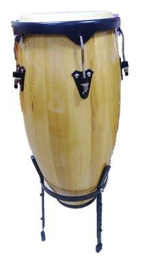 【樂器城堡】 康加鼓 CONGA 11吋 台灣製 贈鼓架