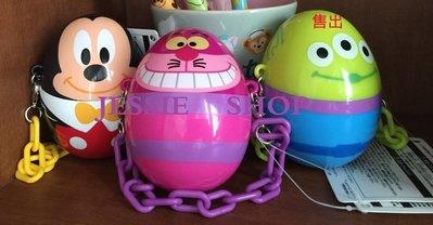 日本東京迪士尼樂園2015復活節 米奇 笑笑貓 妙妙貓 柴郡貓 彩蛋蛋型 迷你糖果盒吊飾 迷你糖果罐吊飾 迷你收納盒吊飾