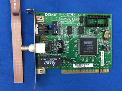 D-Link DE-530 8DE530CT+0B4 REV-B4 VIC-1 94V-0 E91253 電路板 405