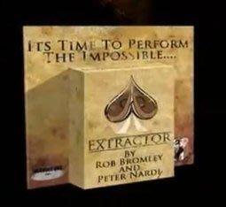 【意凡魔術小舖】EXTRACTOR 萃取 多功能應用 展開--2009年最牛的撲克魔術 魔術道具