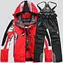 ☀無憂戶外☂spyder/蜘蛛滑雪服/褲男衝鋒衣防水超保暖戶外蜘蛛運動套裝 K4235