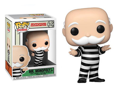 [Paradise] Funko POP! Monopol Mr. Monopoly in Jail 大富翁  囚犯叔叔