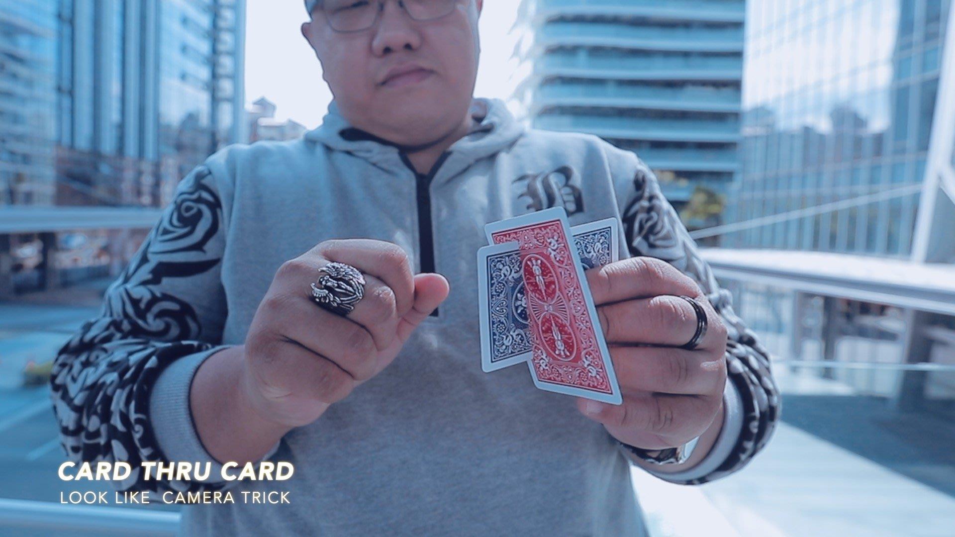 [魔術魂道具Shop]魔術魂原創~~超視覺牌切牌~~穿隧效應~~Intersection by Hondo Chen