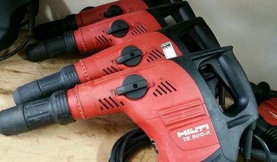 HILTI 喜得釘 TE500-X 鑿破機 破碎機 電動鎚 (中古.二手)..(全新) 氬焊機 電焊機 110/220