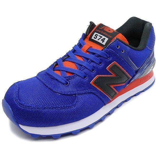 運動GO~ NEW BALANCE 紐巴倫 NB 休閒鞋 慢跑鞋 復古 US9 男 藍 ML574SIA