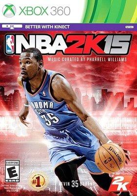【二手遊戲】 XBOX360 美國職業籃球賽 2015 NBA 2K15 中文版【台中恐龍電玩】 台中市