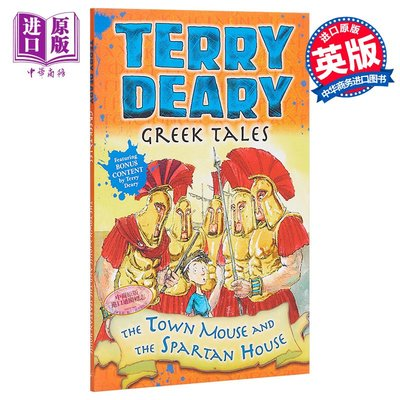 Greek Tales: The Town Mouse and the Spartan House 歷史長河的古人:希臘人 英文原版 進口圖書 7-12歲