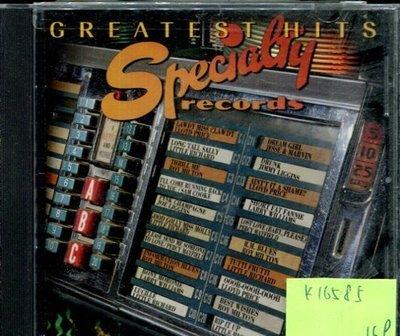 *真音樂* SPECIALTY RECORDS / GREATEST HITS 二手 K16585