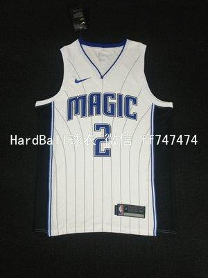 蓋瑞·裴頓(Gary Payton) NBA奧蘭多魔術隊  熱轉印款式 球衣 2號 白色