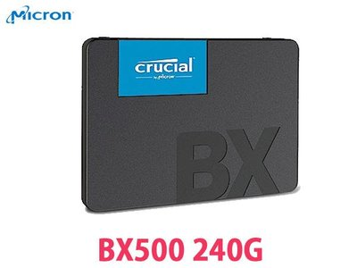 「Sorry」美光 SSD BX500 240G 240GB SATA3 2.5吋 固態硬碟 TLC
