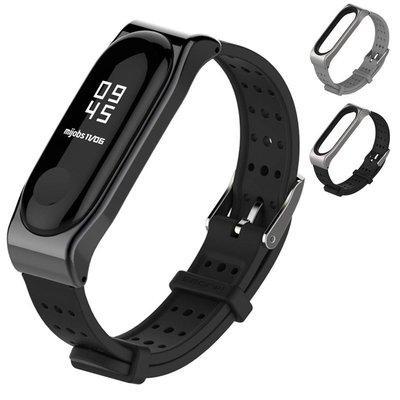小米手環4/3代 經典青春腕帶/錶帶 加贈保護貼2張