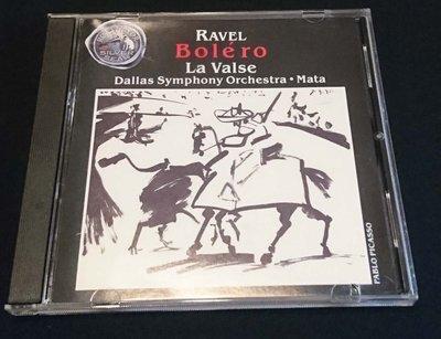 二手CD RAVEL BOLERO LA VALSE MATA DALLAS RCA
