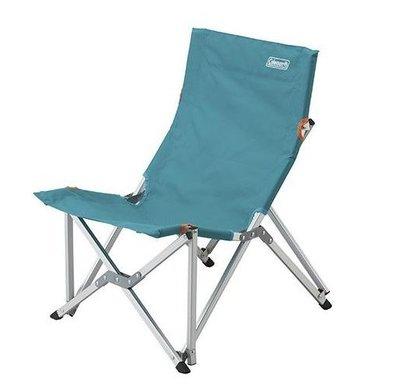 【山野賣客】Coleman 水藍樂活椅 休閒椅 露營椅 躺椅 CM-6994J