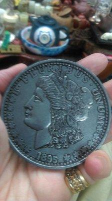 大草原典藏,美國大型百年鋁章,缺貨