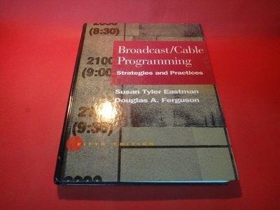 【愛悅二手書坊 10-07】Broadcast/Cable Programming