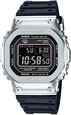 光華.瘋代購 [預購] 日本製 CASIO G-SHOCK GMW-B5000-1 JF 太陽能電波六局 藍芽錶