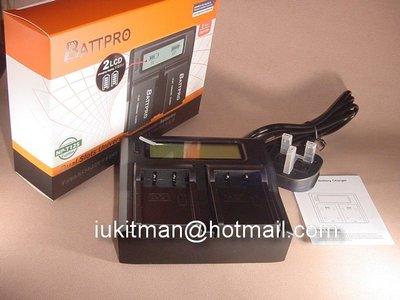 NP-T125 NPT125雙位充電器合FUJIFILM GFX50R中片幅數碼相機專用請看內容(香港行貨由BATTPRO免費一年保用)