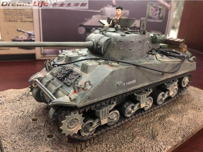 【FOV 最新精品】1/32 U.K. SCALE TANK SERIES 英國陸軍 雪曼螢火蟲 中型坦克~全新現貨特價