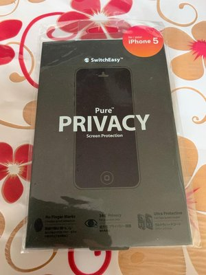 SwitchEasy Pure Privacy Screen Protection IPHONE 5 保護貼