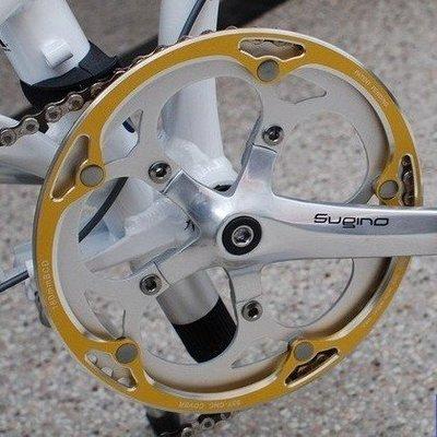 自行車配件 腳踏車配件 大行Dahon D7 / P8 系列 53T 鋁合金 CNC 陽極 護盤 護鏈蓋 良品優舍
