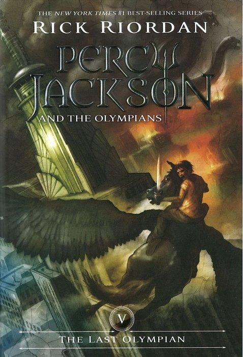 *小貝比的家*PERCY JACKSON #5:THE LAST OLYMPIAN/平裝/12歲以上